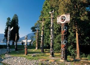 Totem Poles at Stanley Park
