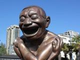 скульптура Laughing men