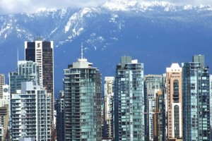 Downtown Vancouver and Mountain View