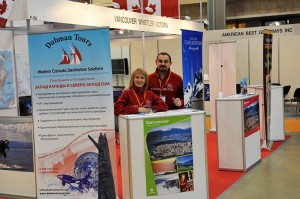 Dubman Tours at Travel Expo in Moscow - MITT 2011