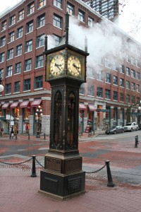 Steam Clock in Historic Gastown, Vancouver